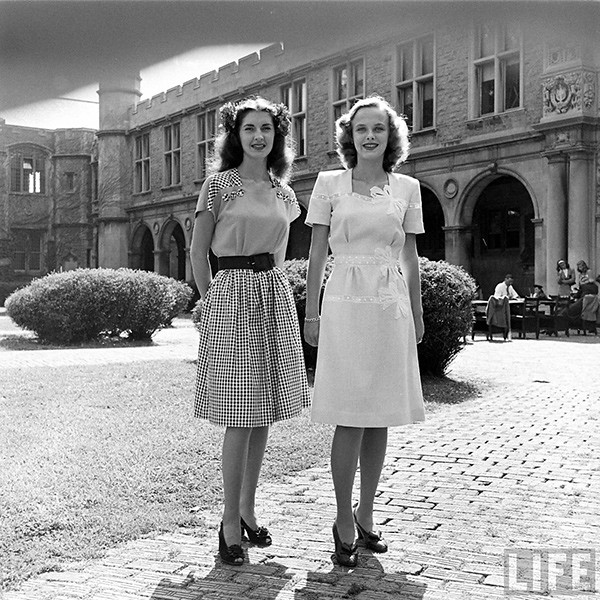 Vintage Photography by Nina Leen | Fashion in St. Louis