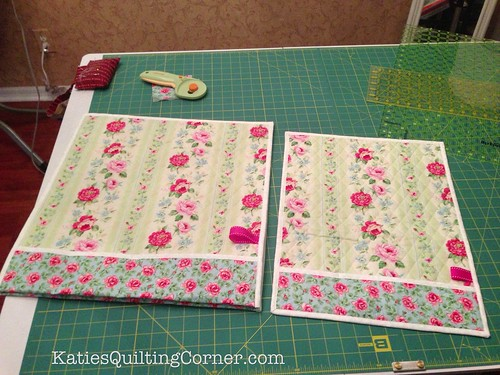 Sewing machine mats