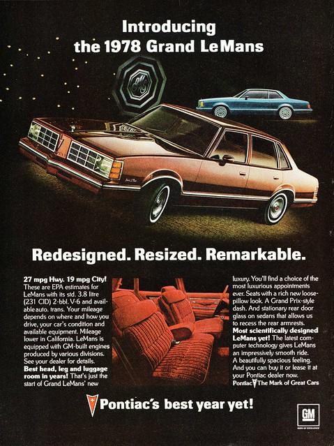 1978 Pontiac Grand Lemans