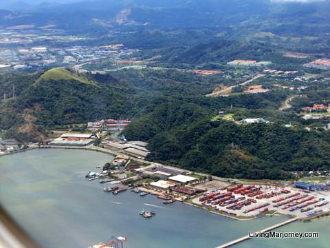 Aerial View Kota Kinabalu