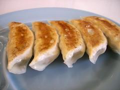 Gyoza, Jiaozi, 餃子