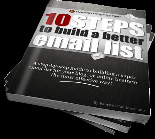 10 Steps To Build a Better Email List
