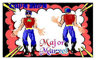 Gary Acord's superheroes, Capn Zapn and Major Marvel