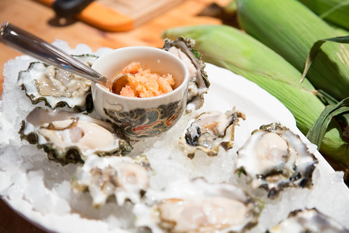 oysters and granita