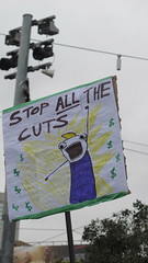 Education Cuts Rally