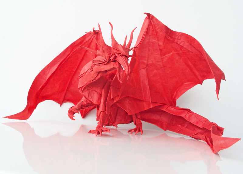 Ancient Dragon by Kamiya Satoshi, folded by me