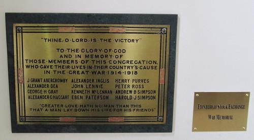 St Andrew's & St George's War Memorial