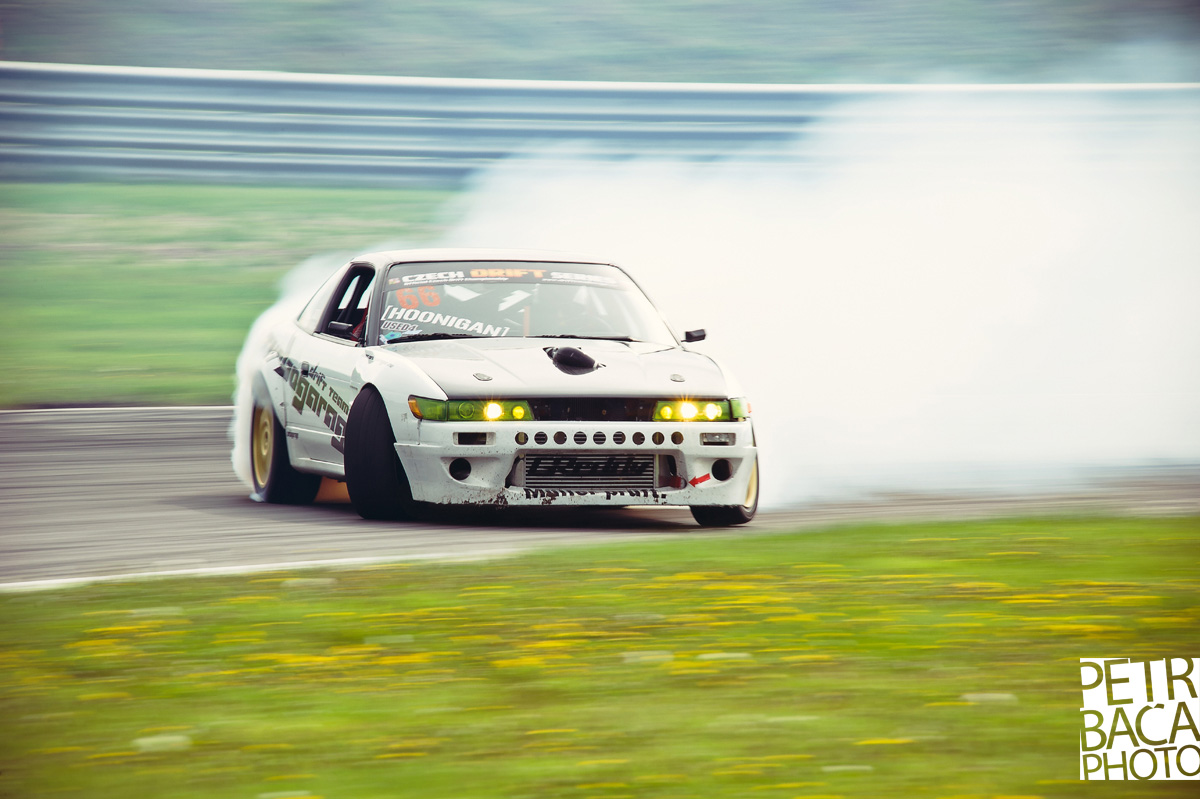 Czech Drift Series 2013, Autodrom Most, Turbogarage,  Nissan 200SX