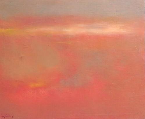 pintura de rosas- oleo sobre tela