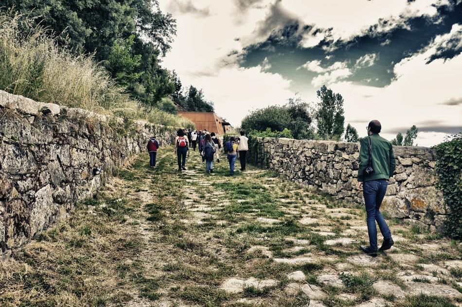 Subindo a calçada romana