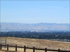 Moffett Field, from the dish trail
