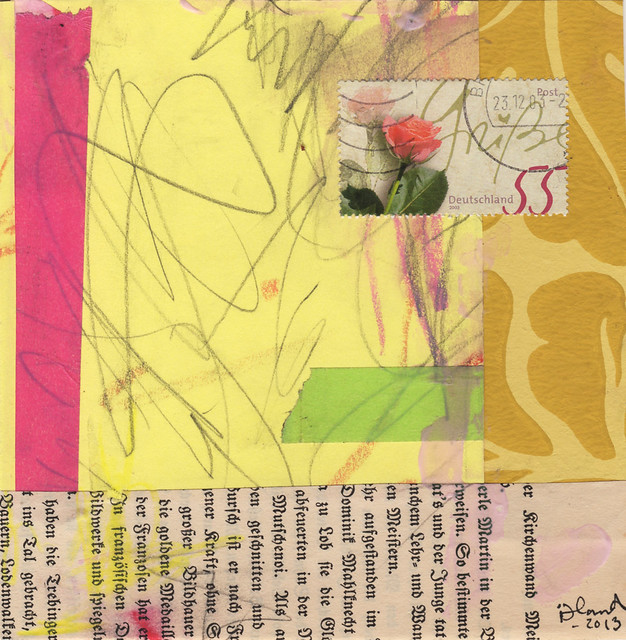 Collage: Rose Garden III
