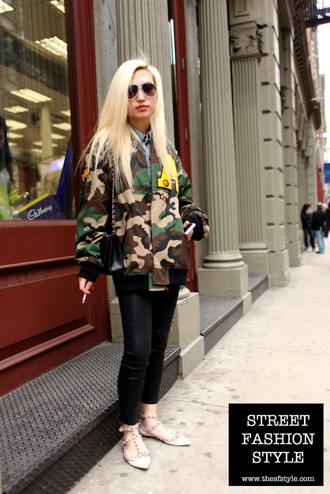 camo, valentino shoes, supreme men's jacket, nyc fashion blog, new york fashion blog, manhattan fashion blog, thesfstyle, street fashion style, sfstyle, STREETFASHIONSTYLE,