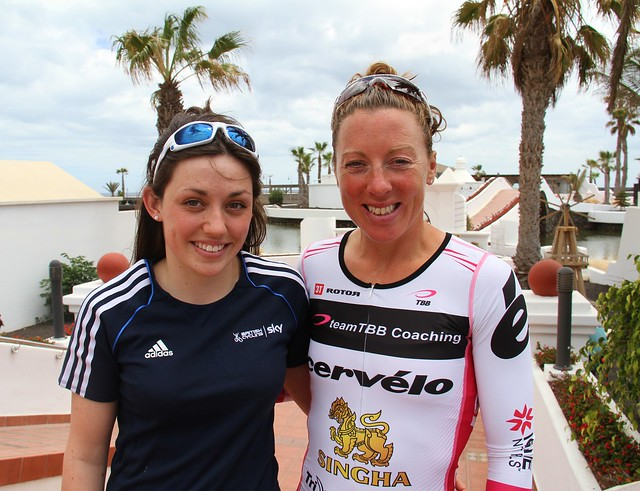Katie talks to Bella Bayliss about Ironman Lanzarote 2013