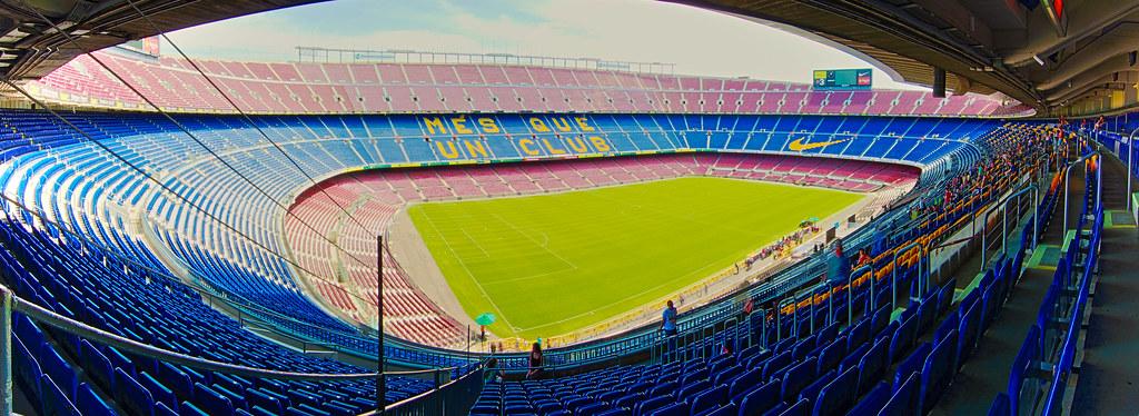 Camp Nou Panorama HDR