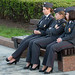 Charming girls of police by Osdu