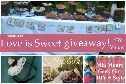 Love is Sweet Giveaway! www.xomia.com