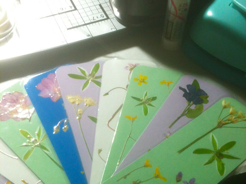 Botanical Bookmarks