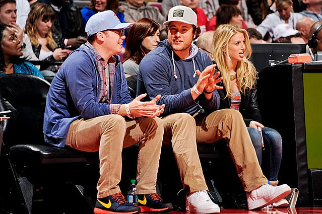 Matthew Stafford Clothing Style: Sportiqe Apparel