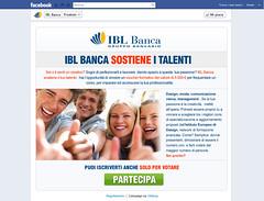 Concorso Facebook IBL Banca