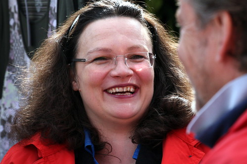 Andrea Nahles | by SPD-Schleswig-Holstein