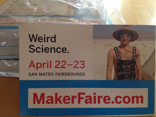 Return to MakerFaire by mikey and wendy