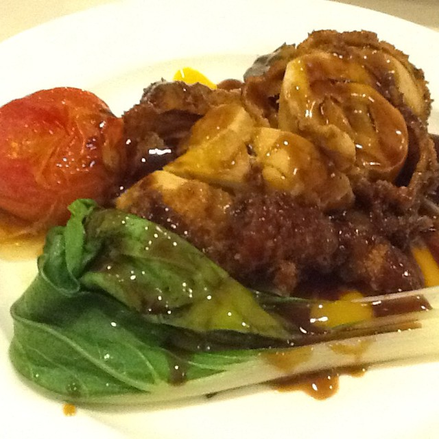 Stuffed Chicken with Mango Adobo @ Villa Cafe | Flickr - Photo Sharing ...