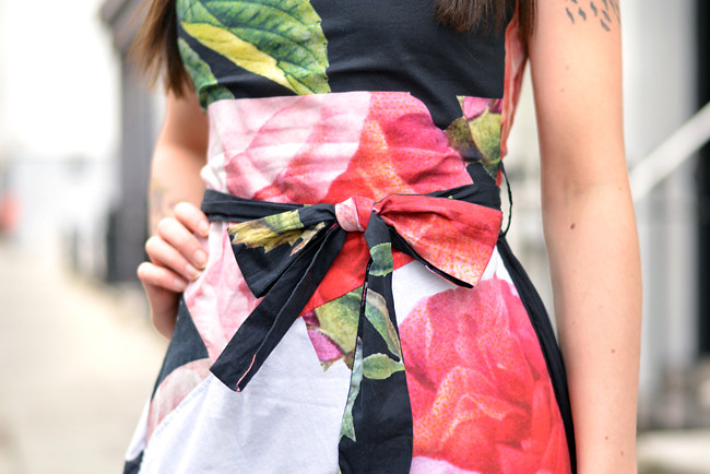Vivienne Westwood floral dress outfit 10