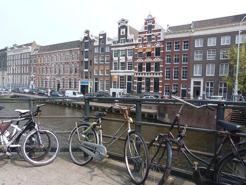 Paisaje urbano en Amsterdam