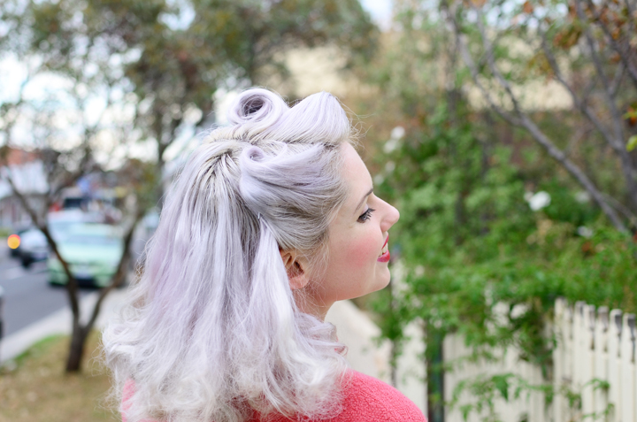vintage-hair-voctory-rolls-lilac-hair a