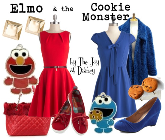 Elmo & Cookie Monster - May 15