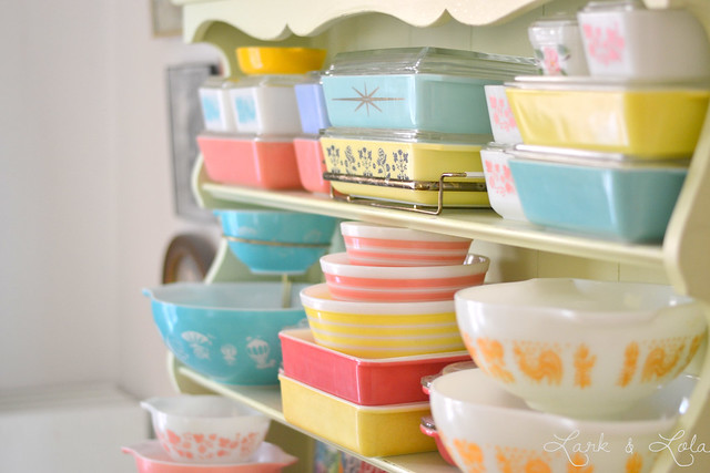 Pyrex display
