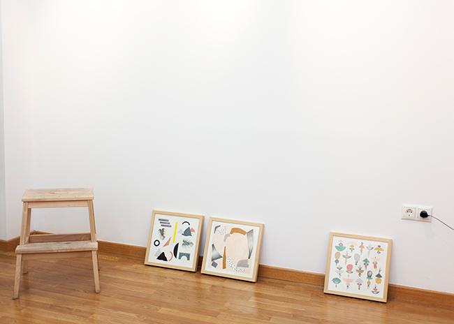 Exposición Depeapa en Tetera y Kiwi. Granada