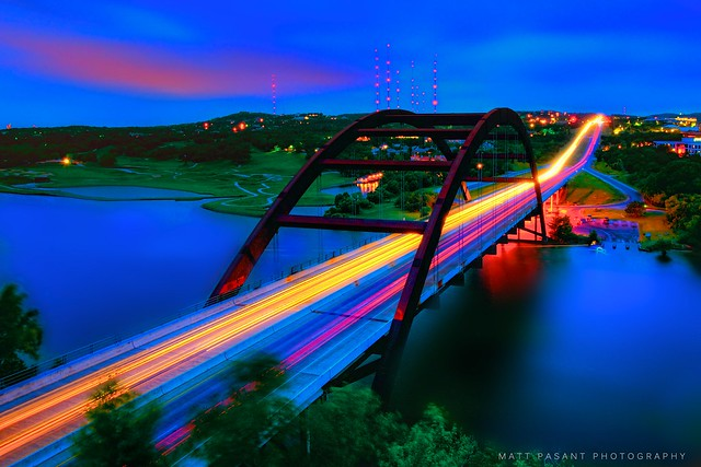 Austin - Texas - 360 Bridge - Pennybacker Bridge