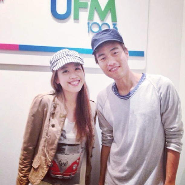 Great interview with DJ Ah Dong #1003 #bevlyn #ufm #ahdong #hahasong