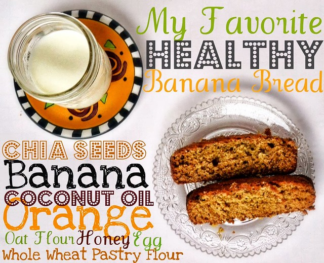 My Favorite Healthy Banana Bread