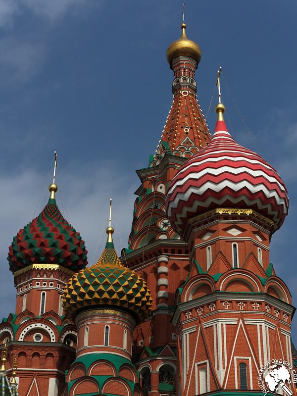 Cathédrale Basile le Bienheureux@Moscou
