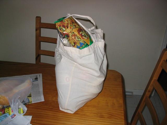 When green bags weren't green (May 2003)