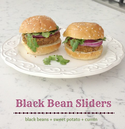 Black Bean Sliders via MealMakeoverMoms.com/kitchen #vegetarian