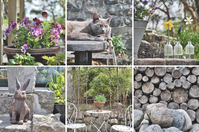 hos Kia på trädgårdsbesök