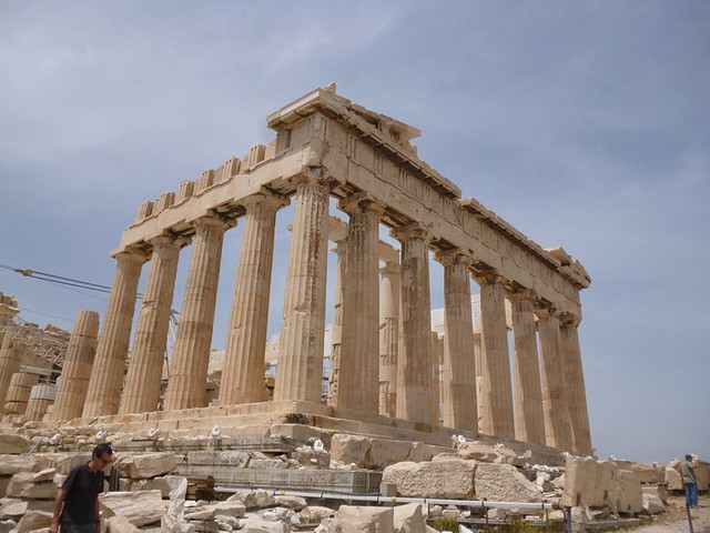 Prettier side of the Parthenon