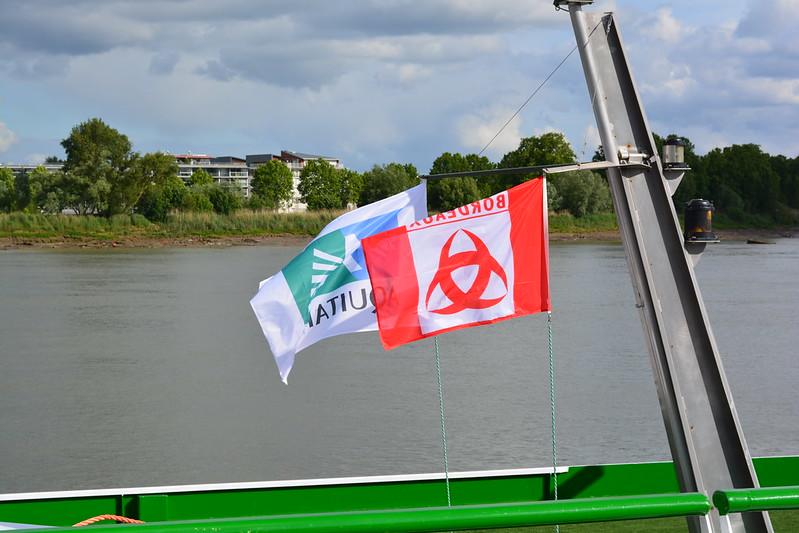 Princesse d'Aquitaine - A bord du MS CYRANO DE BERGERAC - Croisieurope - Bordeaux - 16 mai 2013