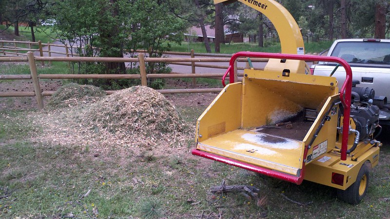 what size wood chipper ?