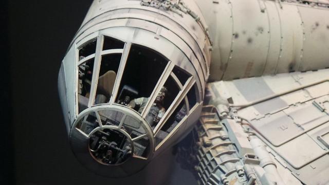 Millenium Falcon model
