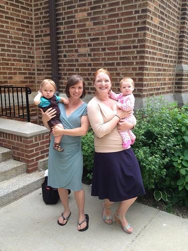 Kathleen + Ryan, Elizabeth + Anne