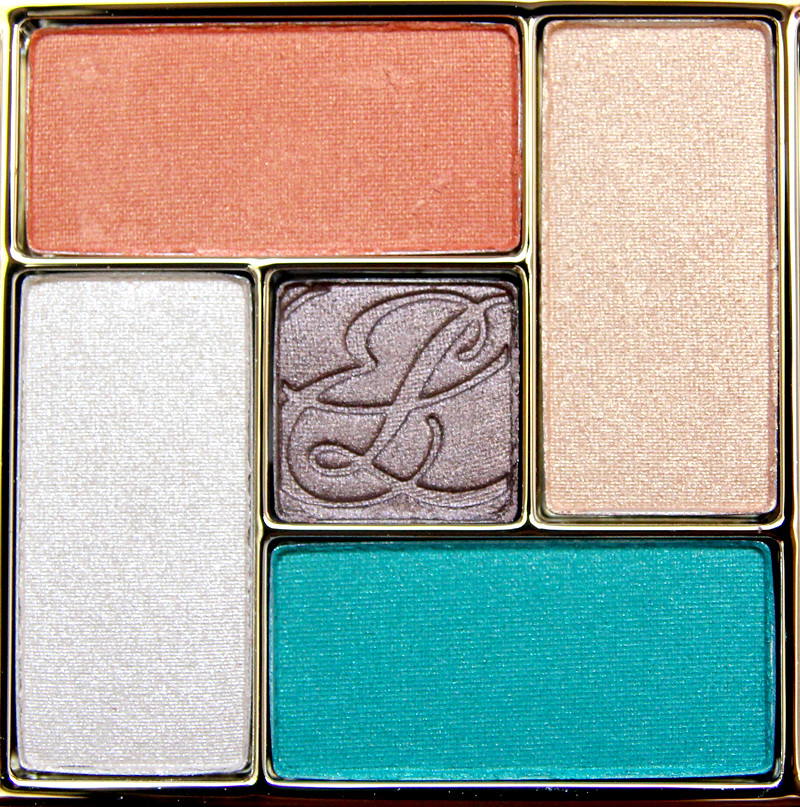 Estée Lauder Batik sun Pure Color Gelée Powder EyeShadow Palette3