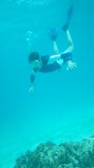 marine biology(0.0), diving(0.0), underwater diving(1.0), swimming(1.0), sports(1.0), recreation(1.0), outdoor recreation(1.0), water sport(1.0), underwater(1.0), freediving(1.0),