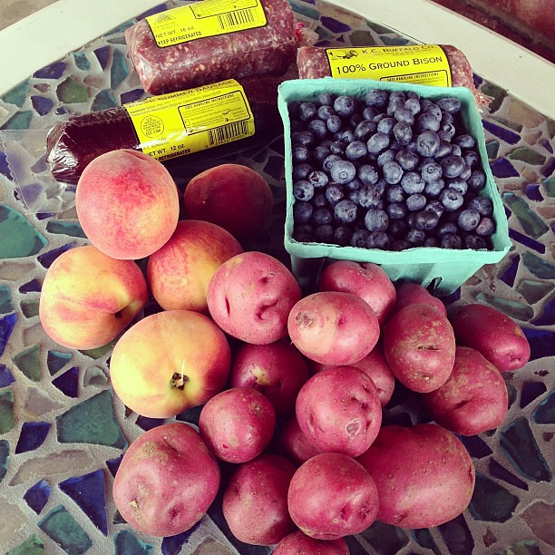Today's market haul #farmersmarket