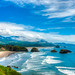 Ecola State Park View by McGinityPhoto