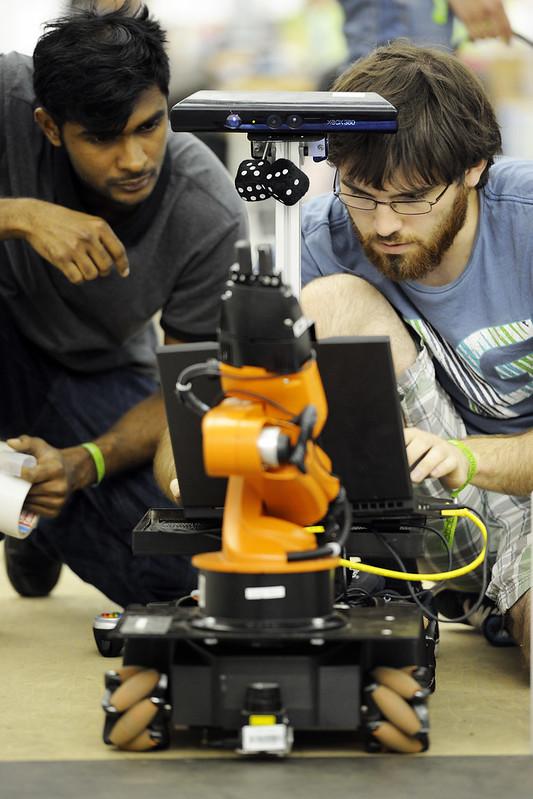BvOF RoboCup2013 - RoboCup@Work